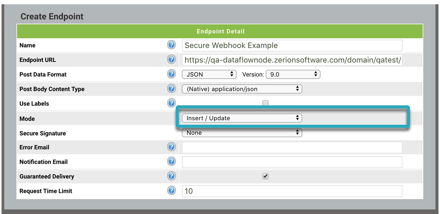 How do I create a Secure Dataflow Automation Webhook