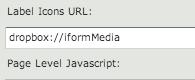 iFormBuilder Image Label