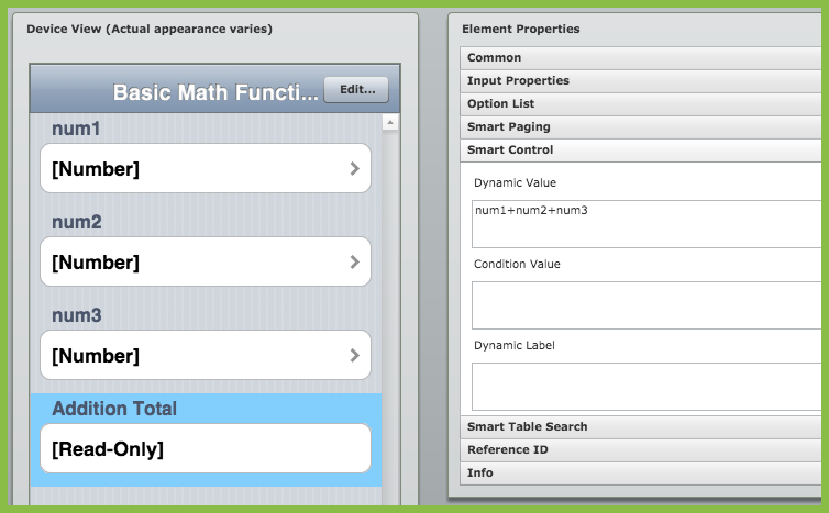 Performing Basic Math Calculatons – Zerion Software Customer